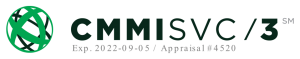 CMMISVC/3 Certification Logo